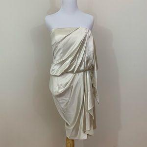 Alexander Wang 100% Silk Goddess Wrap Dress